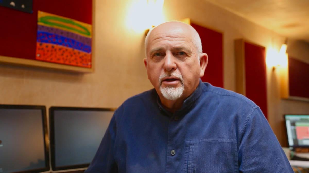 Peter Gabriel interview