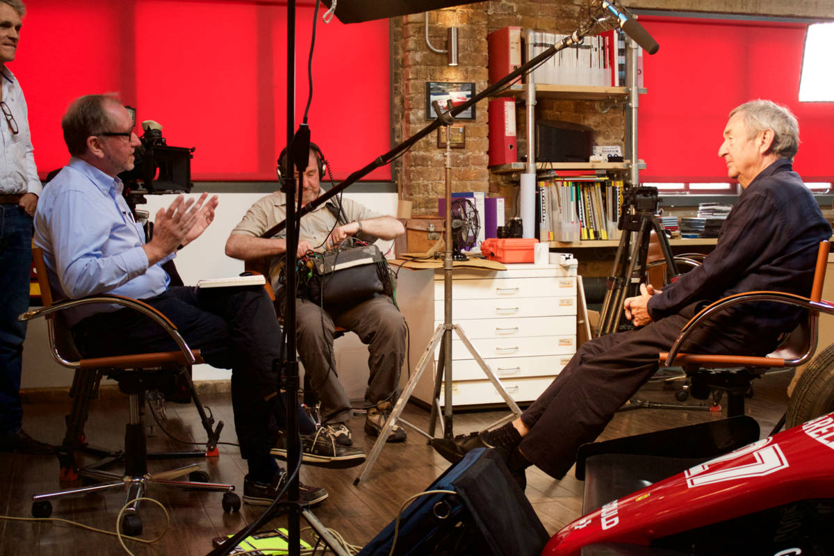 Nick Mason interview with Director, Tom McInnes