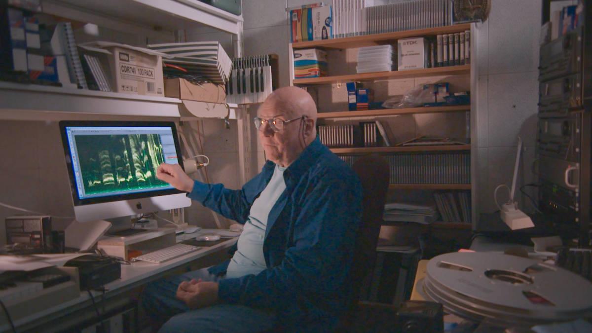 Ron in studio